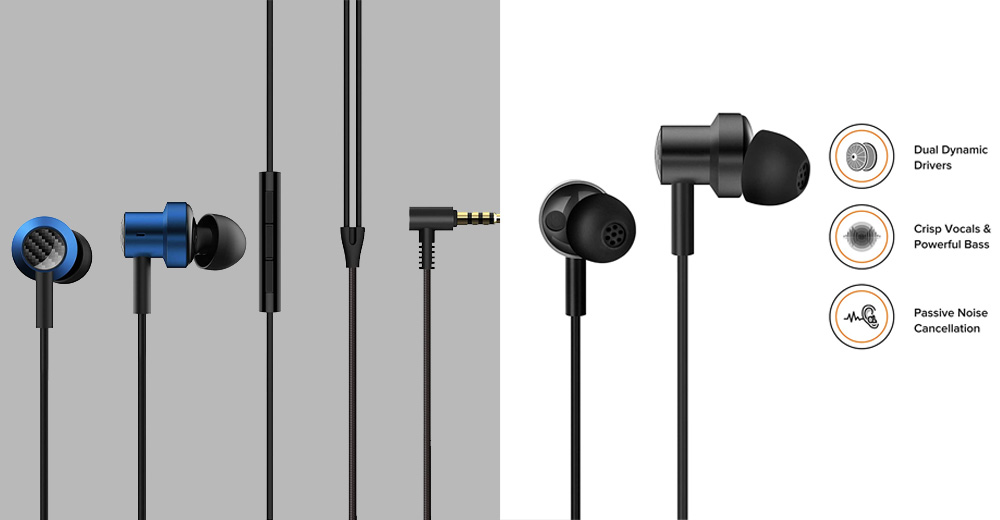 Mi Dual Driver in-Ear Earphones with Mic amazon best earphone