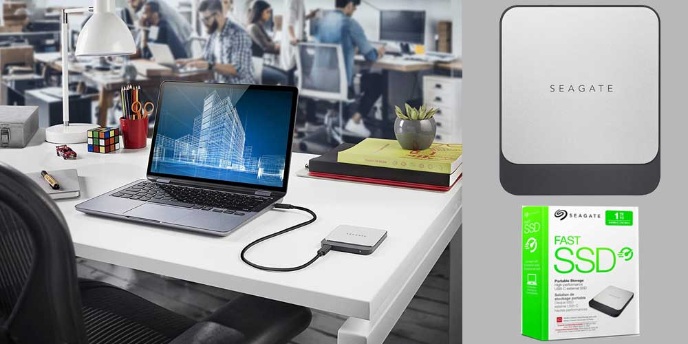 Seagate Fast SSD External Solid State Drive Portable